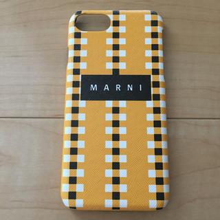 マルニ(Marni)の【新品】 iPhone 7 8 MARNI ケース(iPhoneケース)