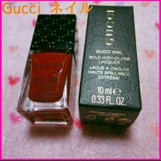 グッチ 赤 マニキュア GUCCI ネイル 120 レッド 化粧品 国内未入荷
