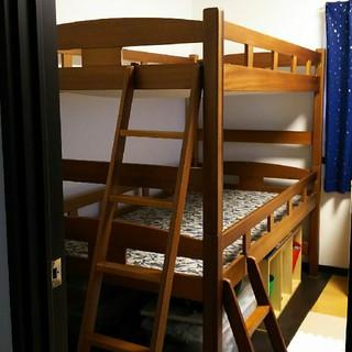二段ベッド(ロフトベッド/システムベッド)