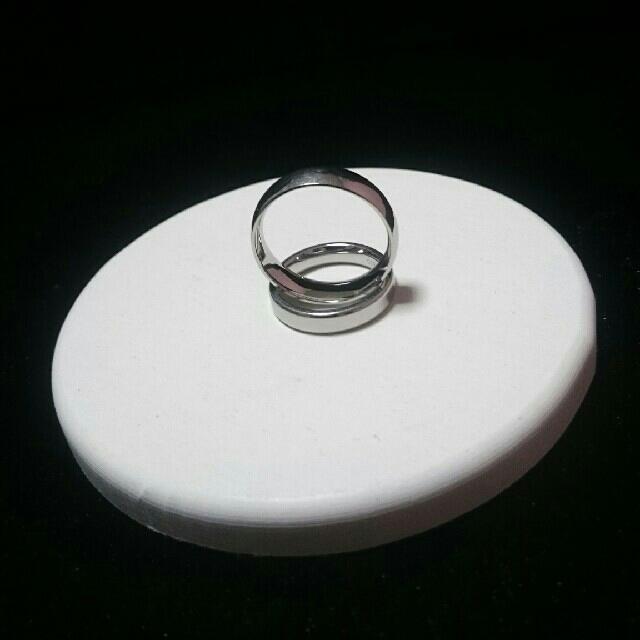 ステンレスリング メンズのアクセサリー(リング(指輪))の商品写真