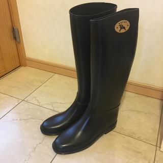 ダフナ(Dafna)のダフナ レインブーツ  ブラック  40(レインブーツ/長靴)