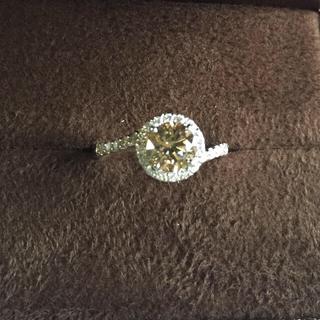ブラウンダイヤモンドリング Pt900     1.044ct  (リング(指輪))