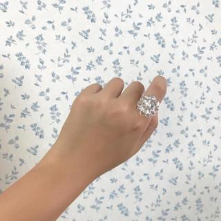 ロキエ(Lochie)の027 vintage chandelier flower ring(リング)