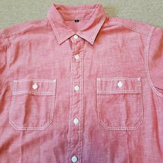 MUJI (無印良品) - 無印良品 シャンブレーシャツ Lサイズ 新品未使用