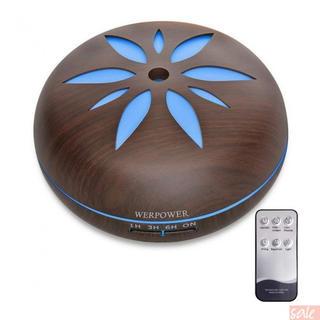 WERPOWER アロマディフューザー 超音波式 卓上加湿器