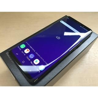 SAMSUNG - au Galaxy S9+ 美品