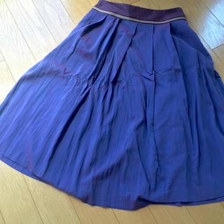 アッシュペーフランス(H.P.FRANCE)のHoochie Coochie♡ふんわり膝丈スカート(ひざ丈スカート)