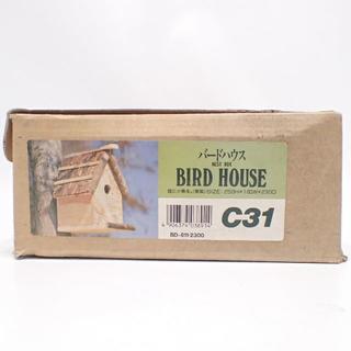 C550 バードハウス 組み立てキット DIY 餌台 庭に小鳥を。(その他)
