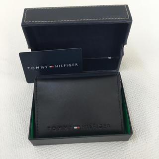 TOMMY HILFIGER - ☆新品正規品箱付きトミールビィガー名刺/カード入れ