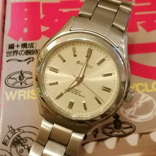 シチズン(CITIZEN)のシチズンスクード腕時計 (自動巻 手巻可能) 裏スケルトン(腕時計(アナログ))