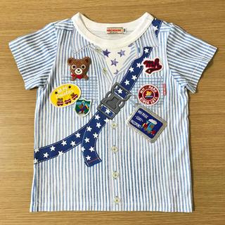 mikihouse - ミキハウス サイズ100  だまし絵 Tシャツ