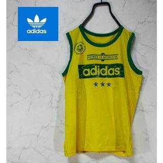 アディダス(adidas)のアディダス タンクトップ  古着 90S系(Tシャツ/カットソー(半袖/袖なし))