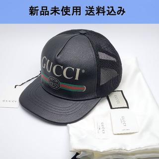 グッチ(Gucci)のGUCCI ヴィンテージロゴ キャップ 新品未使用(キャップ)