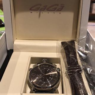 ガガミラノ(GaGa MILANO)のGaGa MILANO ガガミラノ 509703BW(腕時計(アナログ))