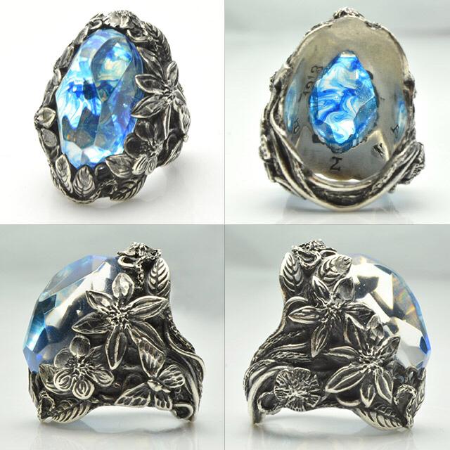 Chrome Hearts(クロムハーツ)のリリーエルランドソン ウィンター リング 指輪 18号 メンズのアクセサリー(リング(指輪))の商品写真