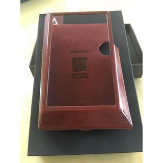 アイリバー(iriver)のAstell&Kern AK320 CASE バーガンディー(その他)
