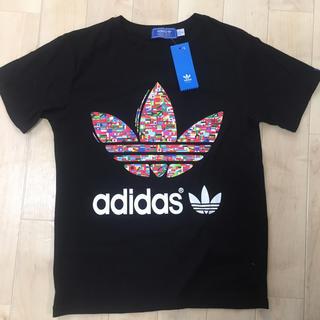 アディダス(adidas)の【新品タグ付き】adidasオリジナルス Tシャツ Mサイズ ブラック(Tシャツ(半袖/袖なし))