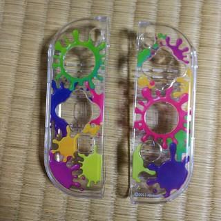 ニンテンドースイッチ(Nintendo Switch)の任天堂switchジョイコンカバースプラトゥーン(携帯用ゲーム本体)