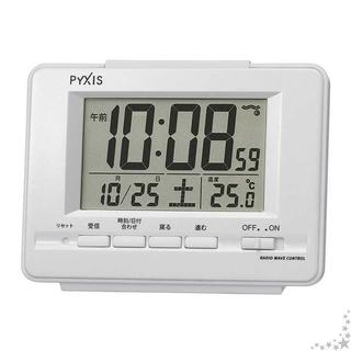 セイコー クロック 目覚まし時計 電波 デジタル カレン(置時計)