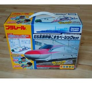 タカラトミー(Takara Tomy)のプラレール E6系新幹線こまちベーシックセット(電車のおもちゃ/車)
