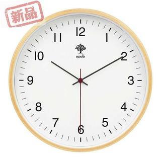 インテリア 掛け時計 アナログ 木製 サイレント子供 部屋(置時計)