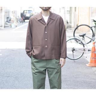 ヤエカ(YAECA)のAURALEE オーラリー 17ss  ウールシルクトロピカルシャツジャケット (その他)