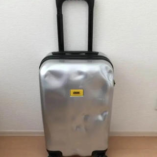 リモワ(RIMOWA)のクラッシュバケッジ  キャリーケース シルバーメタル(トラベルバッグ/スーツケース)