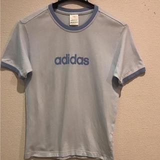 アディダス(adidas)のアディダス 水色Tシャツ(Tシャツ(半袖/袖なし))