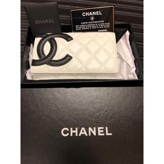 シャネル(CHANEL)の新品 シャネル 財布 カンボン(財布)