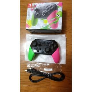 ニンテンドースイッチ(Nintendo Switch)のプロコントローラー スプラトゥーン2 エディション(その他)
