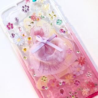 ディズニー(Disney)のiPhone ケース 7 8 カバー ラプンツェル スマホ アイホン(iPhoneケース)