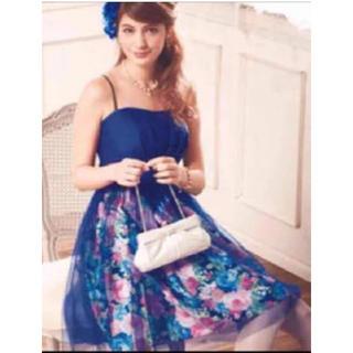エメ(AIMER)のAIMER 花柄ドレス(ミディアムドレス)