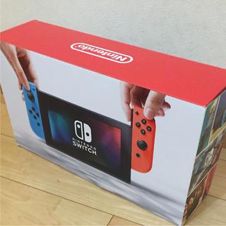 ニンテンドースイッチ(Nintendo Switch)のNintendo Switch Joy-Con (L) ネオンブルー / (R…(家庭用ゲーム本体)