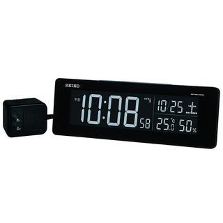 セイコー(SEIKO)のSEIKO CLOCK(セイコークロック交流式カラー液晶デジタル電波目覚まし時計(置時計)