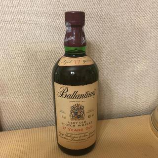 バランタインカシミヤ(BALLANTYNE CASHMERE)のバランタイン 17年 スコッチウイスキー(ウイスキー)