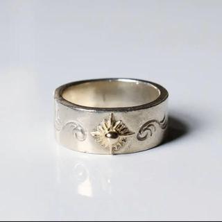 アリゾナフリーダム(ARIZONA FREEDOM)の【アリゾナフリーダム】太陽神唐草シルバーリング K18(リング(指輪))