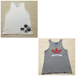 アディダス(adidas)の【専用出品です】adidas originals タンクトップ×2枚(Tシャツ/カットソー(半袖/袖なし))