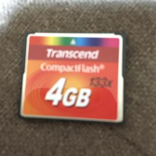 コンパクトフラッシュ4GB(その他)