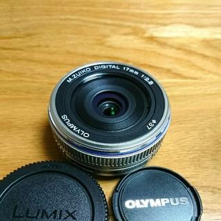 オリンパス(OLYMPUS)のOLYMPUS PEN 単焦点 17mm PL(レンズ(単焦点))