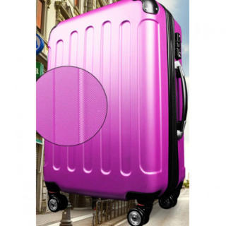 【24h限定】 キャリーケース 機内持ち込み可 1~3日用 Sサイズ ピンク(スーツケース/キャリーバッグ)