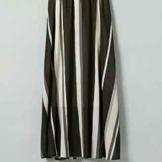 ジーナシス(JEANASIS)のJEANASIS  マルチストライプロングスカート(ロングスカート)