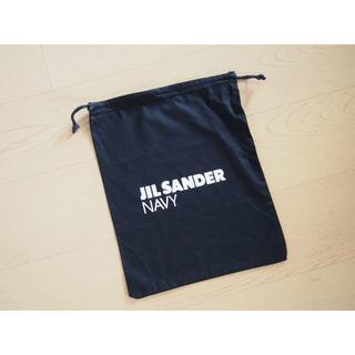 ジルサンダー(Jil Sander)のジルサンダーネイビー☆巾着袋(ポーチ)