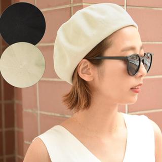 coca ベレー帽(ハンチング/ベレー帽)