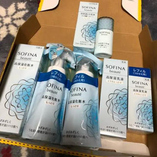 SOFINA 化粧水 乳液