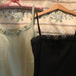 最終価格🥗vintage camisole set.