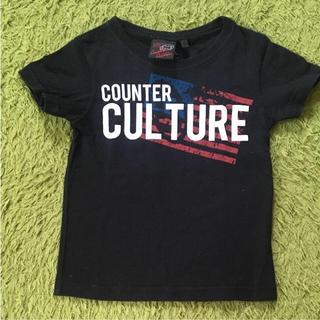 カウンターカルチャー(Counter Culture)の【引越しSALE】 Tシャツ 黒 サーフ 100 カウンターカルチャー(Tシャツ/カットソー)
