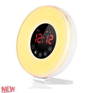 目覚まし時計 目覚ましライト 光療法 アラーム 大音量 多(置時計)