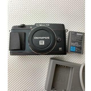 オリンパス(OLYMPUS)のオリンパスPEN E-P5☆美品カメラボディOLYMPUS(ミラーレス一眼)