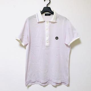 エポカ(EPOCA)の定1.7万 EPOCA UOMO エポカウォモ 切替半袖ポロシャツ48(ポロシャツ)