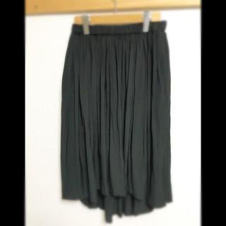 アズールバイマウジー(AZUL by moussy)の黒ロングスカート(ロングスカート)